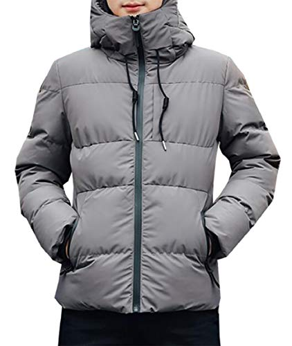 2 security Puffer Packable Quilted Hooded Down Winter Lightweight Coat Mens Jacket rv6OqwavxS