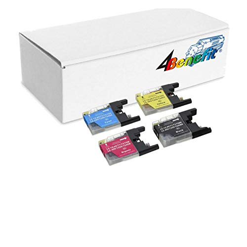 Compatible Ink Cartridge Replacement for Brother LC-75 (8 Black 4 Cyan 4 Magenta 4 Yellow) 20 Pack ()
