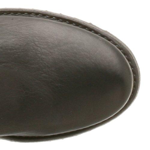 FRYE - Botas de cuero para mujer Flat Black