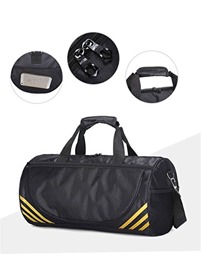 Bag Yogo Gym Adanina Lightweight resistant Sports Men amp; s Women For Travel Luggage Water Duffle Golden Foldable Bags wqqItc6S4
