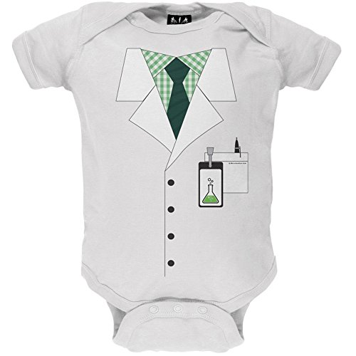 Old Glory Scientist Costume Baby One Piece - 12-18 months -