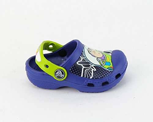 crocs 15259 CC Woody And Buzz Clog (Toddler/Little Kid),Cerulean Blue,4 M US Toddler (Buzz Lightyear Shoes)