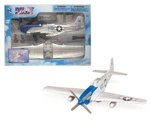DEL KIT - P-51 MUSTANG SILVER BLUE 20217B1 ()