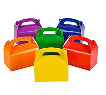 Amazon.com: tytroy Cajas de Cartón Colores brillantes Treat ...