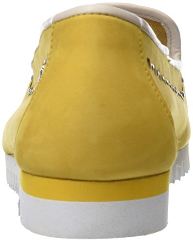 Sabrinas Toe Women's Closed Yellow Ballet Chicago Flats rqr6S