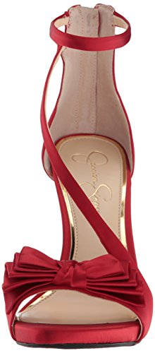 Jessica Simpson Donne Remyia Pompa Mousse Rosso