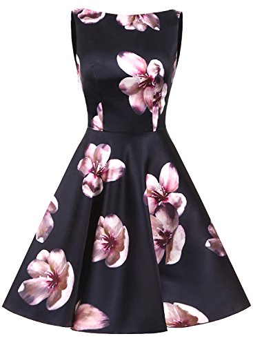 Retro Abendkleid Cocktailkleider 50s Erosebridal Rockabilly Kleid Vintage q7Y4nz