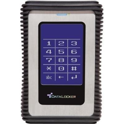 Data Locker 3 - Hard drive - 2 TB - USB 3.0, Gray (DL2000V3) by Data Locker