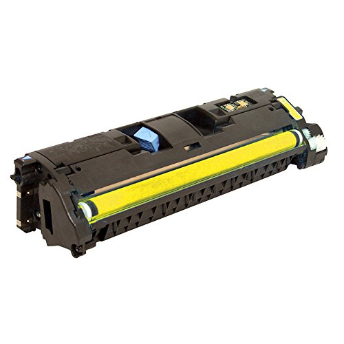 PRINTJETZ Premium Compatible Replacement for HP 121A (C9702A) Yellow Toner Cartridge. - C9702a Yellow Cartridge