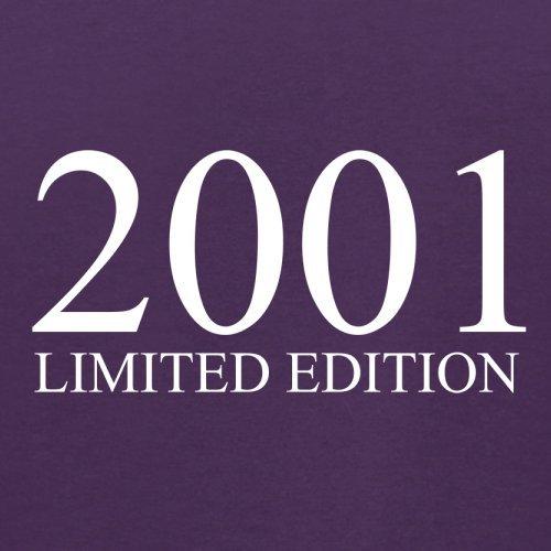 2001 Limierte Auflage / Limited Edition - 16. Geburtstag - Herren T-Shirt - Lila - XL