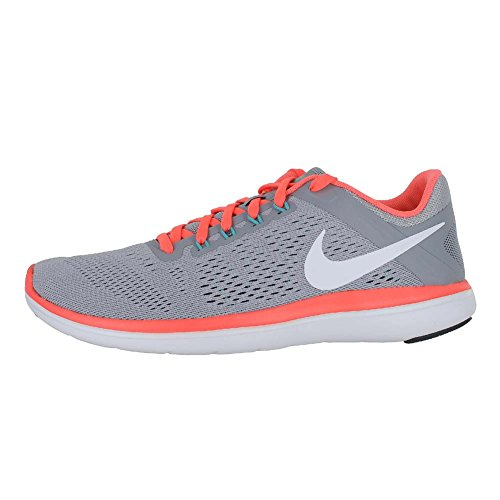 Chaussures White Running Compétition Flex NIKE Grey Mango 2016Rn Bright UK Femme Grey Gris Dark de Wolf xx4EZ