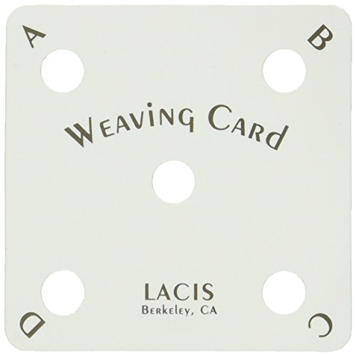 Lacis Card Weaving Cards, 25-Pack