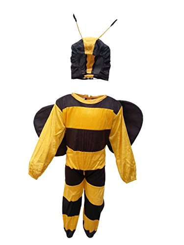 Honey Bee Fancy Dress for Kids,Insect Costume for School Annual Function]()