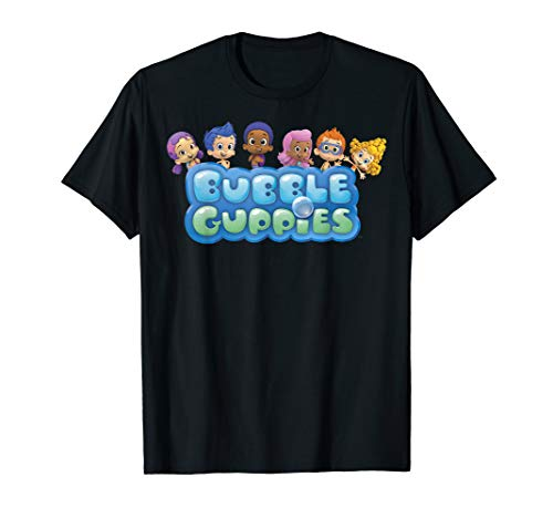 Nickelodeon Bubble Guppies Group Logo T-Shirt]()