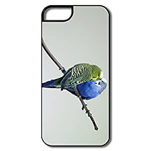 Parrot Couple Case Pu Customized Geek Iphone 5 Shell