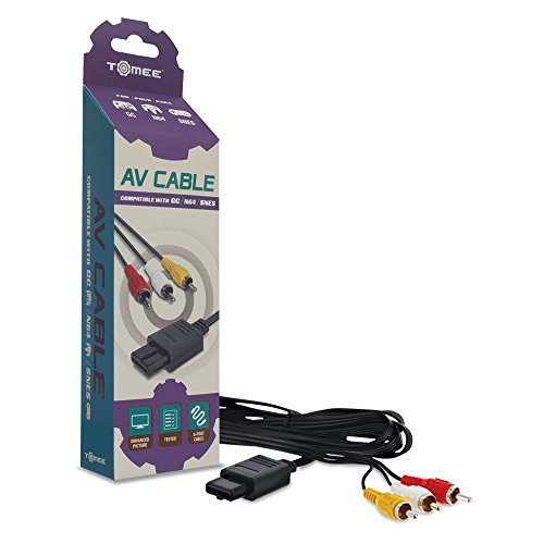 N64 Gamecube - Tomee AV Cable for GameCube/ N64/ SNES