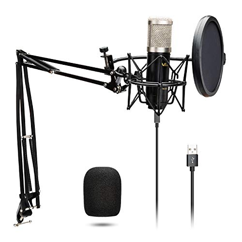 USB Microphone Kit VeGue Condenser Recording Microphone