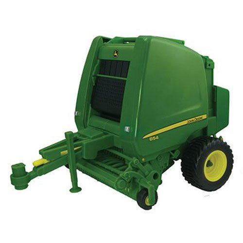 Ertl Big Farm 1:16 John Deere 854 Round Baler With Bales