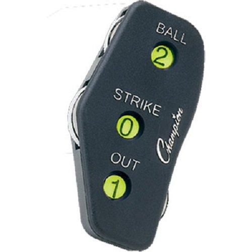 Umpire Indicator (Champion Sports 3 Wheel Oversized Optic Yellow Umpire Indicator (Single))