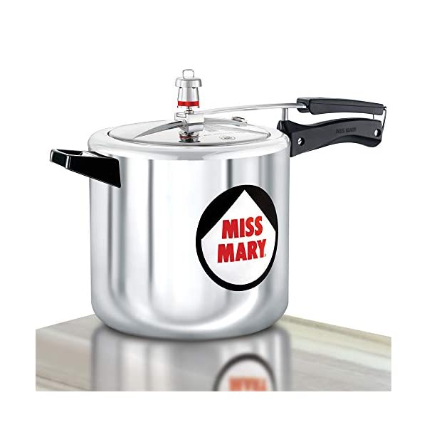 Hawkins Miss Mary Pressure Cooker, 7 Litre, Silver (MM70)