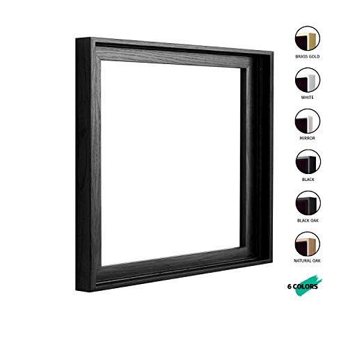 - Square Floater Frames for Canvas Paintings 24x24 | 6 Colors | Floater Frame for Stretched Canvas, Canvas Panels | 1-3/8