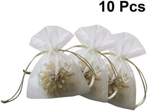 Amazon.com: Amosfun 10 bolsas de regalo con cordón de ...
