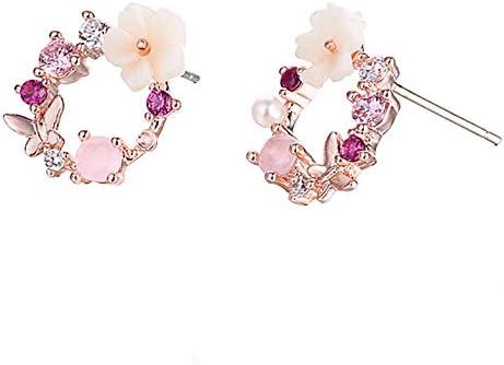 AIUIN 1X Paire Boucles doreilles Style de mode divers pour Femmes Accessoires doreilles Femmes El/égance Mode Boucles doreilles de Style Nouveau
