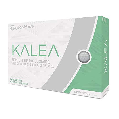 TaylorMade Kalea Golf Balls, White (One Dozen) by TaylorMade