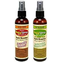 BuggSpray Insect Repellent with DEET Tropic Combo Pack | 1x4 oz Clean Scent and 1x4oz No Fragrance