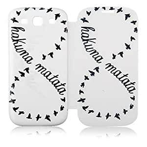 Number Eight Leather Full Body Case for Samsung Galaxy S3 I9300