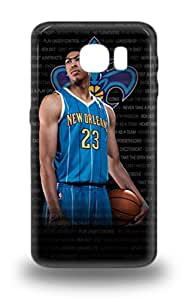 Awesome Galaxy Defender Tpu Hard 3D PC Case Cover For Galaxy S6 NBA New Orleans Pelicans Anthony Davis #23 ( Custom Picture iPhone 6, iPhone 6 PLUS, iPhone 5, iPhone 5S, iPhone 5C, iPhone 4, iPhone 4S,Galaxy S6,Galaxy S5,Galaxy S4,Galaxy S3,Note 3,iPad Mini-Mini 2,iPad Air )