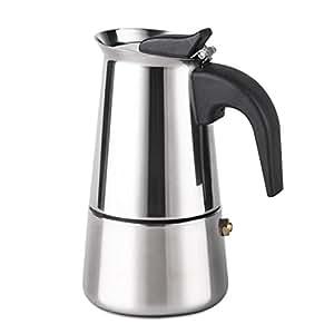 AMFOCUS Stainless Steel Espresso Maker Moka Pot Percolator