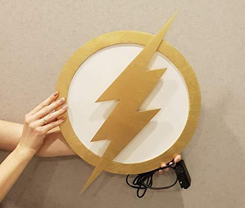 Justice League LED Illuminated Flash lamp Night lights Superhero Lamp