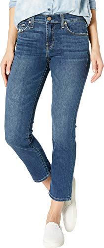 7 For All Mankind Women's Roxanne Ankle in Glam Medium Glam Medium 26 27 7 For All Mankind Jeans Roxanne