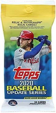 2020 Topps Baseball Update Series 34-Card Hanger Pack