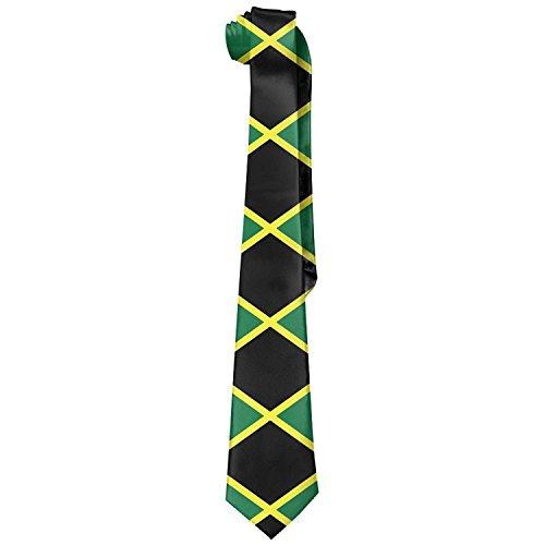 Jamaican Flag Stripe Caribbean Island Men