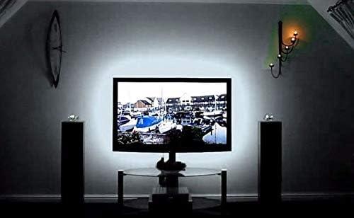 Cordon Tira led de 3 m y puerto USB de 180 leds autoadhesiva blanco frio para TV, monitor, espejos, cocinas, baños, oficinas, interior muebles, cristaleras, armarios, de CHIPYHOME: Amazon.es: Iluminación