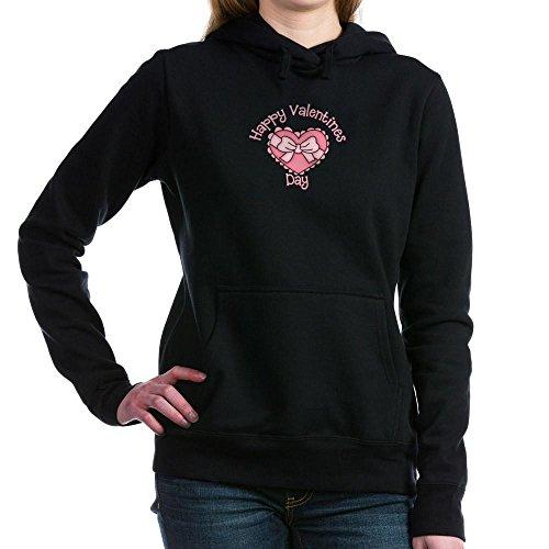 CafePress - Happy Valentines Day Hooded Sweatshirt - Pullover Hoodie, Classic & Comfortable Hooded Sweatshirt Black ()