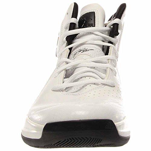 Hommes Adidas; D Howard 5 Blanc De Chaussures De Basket-ball