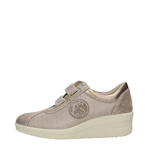 Enval Sneakers Basse 59475 00 Platino Soft Donna wS4wqR