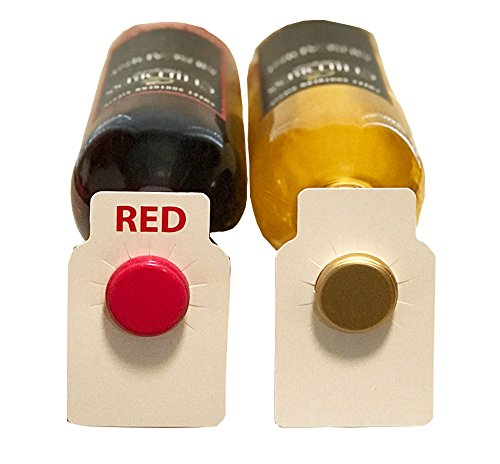 Red and White wine bottle pape