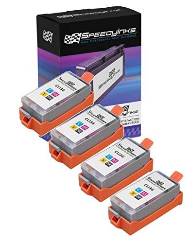Speedy Inks - 4pk Compatible Canon CLI-36 CLI36 Tri Color
