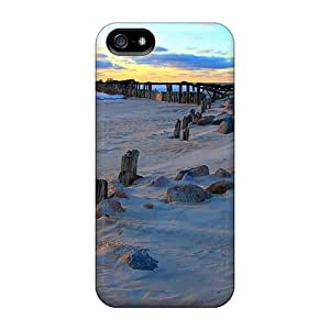 New Fashion Premium Cases Covers For Iphone 5/5s - Broken Pier In Winter