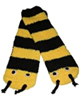 RSG Soft and Cuddly Animal Slipper Socks With Grips (Frog, Bumble Bee, Ladybug, Pink Mouse)