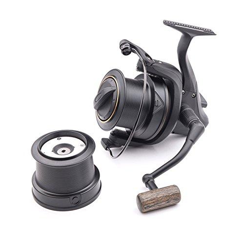 Wychwood Riot Big Pit 75S Carp Fishing Reel 5+1 Bearing 5:1 Retrieve Ratio with Spare Spool