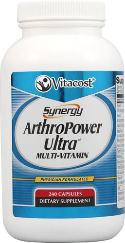 Vitacost Synergy ArthroPower Ultra(R)(t) Multi-Vitamin -- 240 Capsules - 3PC