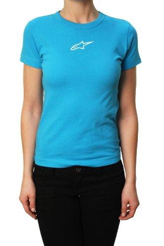 "Alpinestars Junior's Astars ""Scroll Baby Tee"" Embellished T-Shirt Blue Blue"