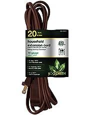 Perfpower Go Green GG-24820 16/2 Household Extension Cord, 20-Feet