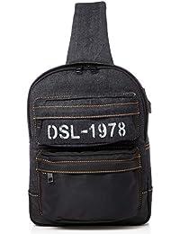 Men's SKOOLD BREGGHI - backpack, Blue/black, UNI