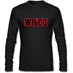 Men's Wilco 2016 World Tour Concert Long Sleeves T-Shirt